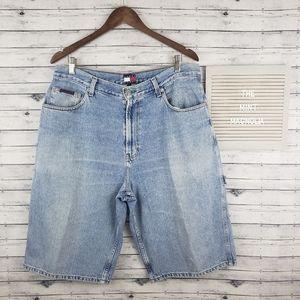 Vintage 90s Tommy Hilfiger Jean Shorts